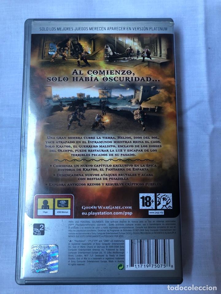 Videojuegos y Consolas: juego psp god of war - Foto 2 - 146316202
