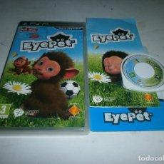 Videojuegos y Consolas: EYEPET PLAYSTION PSP PAL ESPAÑA . Lote 147413258