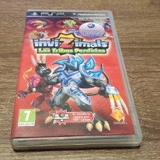 Videojuegos y Consolas: JUEGO PSP INVIZIMALS LAS TRIBUS PERDIDAS. Lote 147480684
