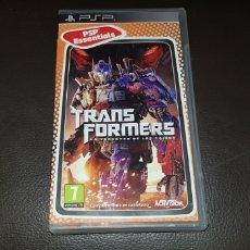 Videojuegos y Consolas: JUEGO SONY PSP TRANSFORMERS. Lote 147481658