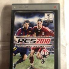Videojuegos y Consolas: JUEGO PSP PES 2010. Lote 147639965