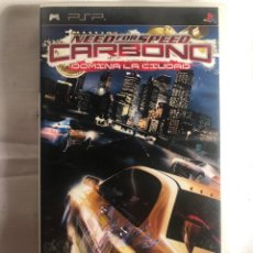 Videojuegos y Consolas: JUEGO PSP NEED FOR SPEED CARBONO. Lote 147641962