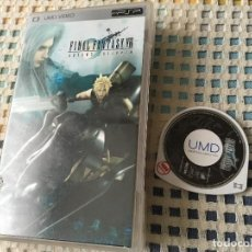Videojuegos y Consolas: FINAL FANTASY VII 7 ADVENT CHILDREN FF PSP UMD VIDEO PELICULA. Lote 147778270