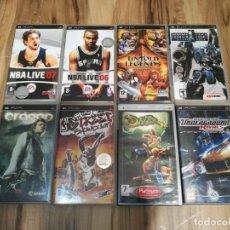 Videojuegos y Consolas: LOTE 8 JUEGOS PSP PLAYSTATION PORTABLE / ARMORED CORE + NFS RIVALS + DAXTER + UNTOLD LEGENDS + NBA . Lote 147992414