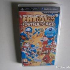 Videojuegos y Consolas: FAT PRINCESS: FISTFUL OF CAKE PSP NUEVO. Lote 148152406