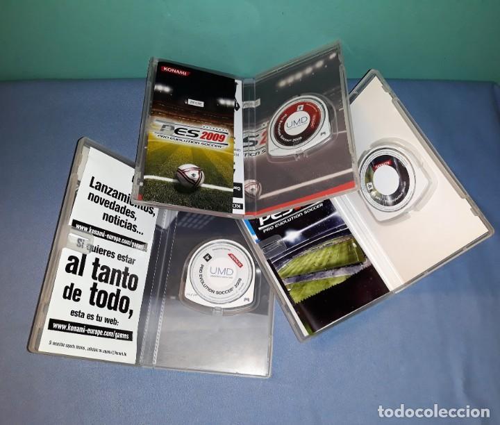 Videojuegos y Consolas: 3 JUEGOS PSP PLAYSTATION PRO EVOLUTION SOCCER 2008 2009 2011 VER FOTOS Y DESCRIPCION - Foto 3 - 149487214