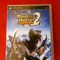 Videojuegos y Consolas: MONSTER HUNTER FREEDOM 2 - JUEGO PLAYSTATION PSP (PAL) (BUEN ESTADO) ROL DE ACCION. Lote 149723606