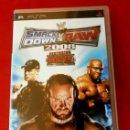 Videojuegos y Consolas: SMACKDOWN VS RAW 2008 - FEATURING EGW - JUEGO PLAYSTATION PSP (PAL) (BUEN ESTADO) JUEGO LUCHA LIBRE. Lote 149725322