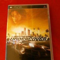 Videojuegos y Consolas: NEED FOR SPEED UNDERCOVER - JUEGO PLAYSTATION PSP (PAL) (BUEN ESTADO) VIDEOJUEGO DE CARRERAS. Lote 149727854