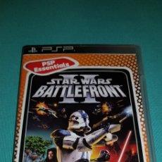 Videojuegos y Consolas: PSP JUEGO STAR WARS BATTLE FRONT II. Lote 150312874