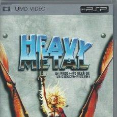 Videojuegos y Consolas: HEAVY METAL SONY PSP PELICULA UMD VIDEO (COMPRA MINIMA 15 EUROS). Lote 150948098