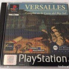 Videojuegos y Consolas: PLAYSTATION JUEGO VERSALLES . Lote 151076546