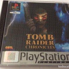 Videojuegos y Consolas: PLAYSTATION JUEGO TOMB RAIDER CHRONICLES . Lote 151077402