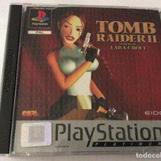 Videojuegos y Consolas: PLAYSTATION JUEGO TOMB RAIDER II. Lote 151078370