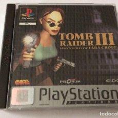 Videojuegos y Consolas: PLAYSTATION JUEGO TOMB RAIDER III. Lote 151078598