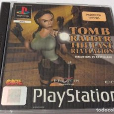 Videojuegos y Consolas: PLAYSTATION TOMB RAIDER THE LAST REVELATION PROMOCIÓN LIMITADA. Lote 151080670