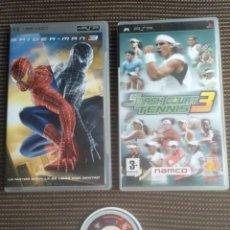 Videojuegos y Consolas: LOTE PSP VIDEO Y 2 JUEGOS. Lote 151527722