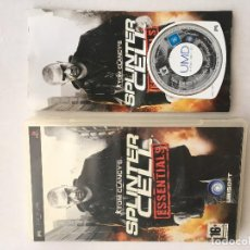 Videojuegos y Consolas: TOM CLANCY'S SPLINTER CELL PSP SONY PLAYSTATION PORTABLE PLAY STATION KREATEN. Lote 151627646