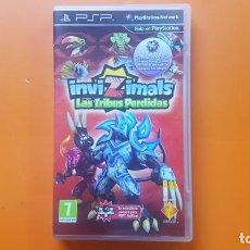 Videojuegos y Consolas: JUEGO PSP INVIZIMALS. Lote 151643394