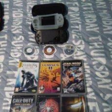 Videojuegos y Consolas: PSP Y 9 JUEGOS. Lote 151882150