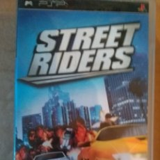 Videojuegos y Consolas: STREET RIDERS PSP. Lote 152457562