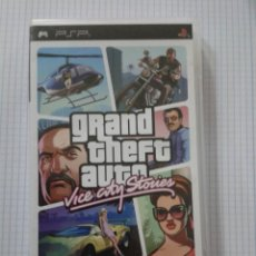 Jeux Vidéo et Consoles: GRAND THEFT AUTO: VICE CITY STORIES. PSP. Lote 152950570