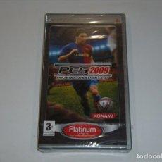 Videojuegos y Consolas: JUEGO PSP PES 2009, NUEVO SIN ABRIR, PRECINTADO. Lote 153932046