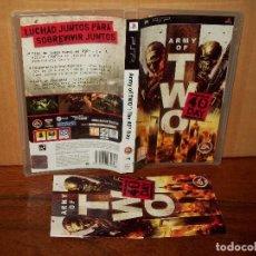 Jeux Vidéo et Consoles: ARMY OF TWO 40 DAY - JUEGO CONSOLA PSP CON MANUAL DE INSTRUCCIONES . Lote 154995638