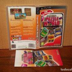 Jeux Vidéo et Consoles: CAPCOM PUZZLE WORLD - JUEGO CONSOLA PSP CON MANUAL DE INSTRUCCIONES . Lote 154997518