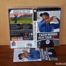 Videojuegos y Consolas: TIGER WOODS PGA TOUR 07 - JUEGO PSP CON MANUAL DE INSTRUCCIONES. Lote 244411995