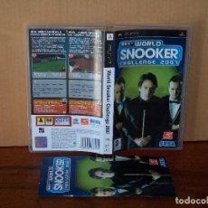 Jeux Vidéo et Consoles: WORLD SNOOKER CHALLENGE 2007 - JUEGO PSP CON MANUAL DE INSTRUCCIONES. Lote 228264640