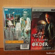 Videojuegos y Consolas: THE ORDER - VAN DAMME - DIRIGIDA POR SHILDON LETTICH - UMD VIDEO CONSOLA PSP. Lote 295636058