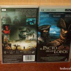 Videojuegos y Consolas: EL PACTO DE LOS LOBOS - SAMUEL LE BIHAN - DIRIGE CHRISTOPHE GANS - UMD VIDEO CONSOLA PSP. Lote 204719936
