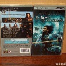 Videojuegos y Consolas: EL REINO DE LOS CIELOS - ORLANDO BLOOM - UMD VIDEO CONSOLA PSP. Lote 155447130