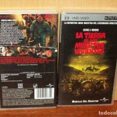 Videojuegos y Consolas: LA TIERRA DE LOS MUERTOS VIVIENTES - DIRIGIDA POR GEORGE A. ROMERO - UMD VIDEO CONSOLA PSP. Lote 155448286