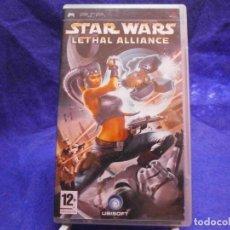 Videojuegos y Consolas: STAR WARS LETHAL ALLIANCE COMPLETO. Lote 155476306