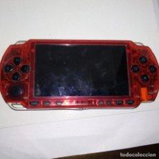 Videojuegos y Consolas: CONSOLA SONY PSP TRANSPARENTE ROJA NO FUNCIONA. Lote 155480070