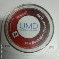 Videojuegos y Consolas: PES 09 PRO EVOLUTION SOCCER 2009 PARA PSP SOLO JUEGO. Lote 155480774