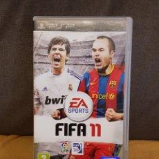 Videojuegos y Consolas: JUEGO PSP FIFA 11. Lote 155660554