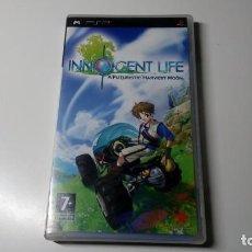 Videojuegos y Consolas: JUEGO INNOCENT LIFE HARVEST MOON SONY PSP PORTATIL PLAY STATION UMD FUNCIONANDO CORRECTAMENTE LEER. Lote 156447898