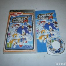 Videojuegos y Consolas: SONIC RIVALS 2 PLAYSTATION PSP PAL COMPLETO . Lote 156500726