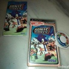 Videojuegos y Consolas: JUEGO PSP SONIC RIVALS SEGA . Lote 156776898