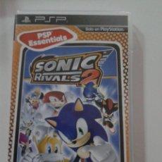 Videojuegos y Consolas: SONIC RIVALS 2 PLAYSTATION PSP PAL COMPLETO. Lote 159643434