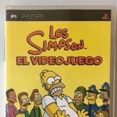 Videojuegos y Consolas: JUEGO PSP LOS SIMPSON. EL VIDEOJUEGO. Lote 159672878