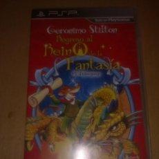 Videojuegos y Consolas: GERONIMO STILTON. Lote 159685298