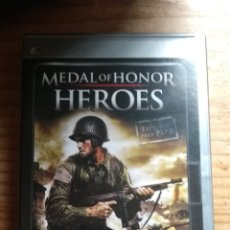 Videojuegos y Consolas: MEDAL OF HONOR HEROES PSP. Lote 160011782