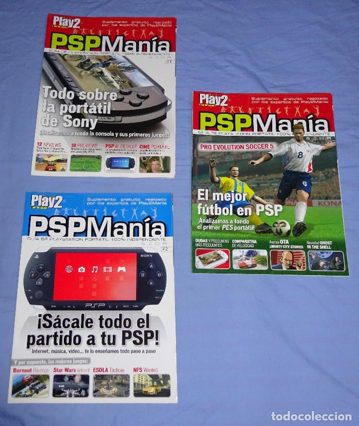 3 REVISTAS PSP MANIA NUMEROS 1 - 2 - 3 - PSPMANIA (Juguetes - Videojuegos y Consolas - Sony - Psp)