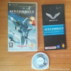 Videojuegos y Consolas: ACE COMBAT X SKIES OF DECEPTION. JUEGO PSP SONY PLAYSTATION PORTABLE NAMCO. Lote 161814830