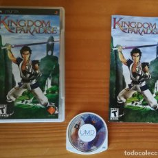 Videojuegos y Consolas: KINGDOM OF PARADISE. JUEGO PSP SONY PLAYSTATION PORTABLE. Lote 163057466