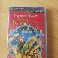 Videojuegos y Consolas: PSP - GERÓNIMO STILTON - REGRESO AL REINO DE LA FANTASÍA - NUEVO. Lote 164241514